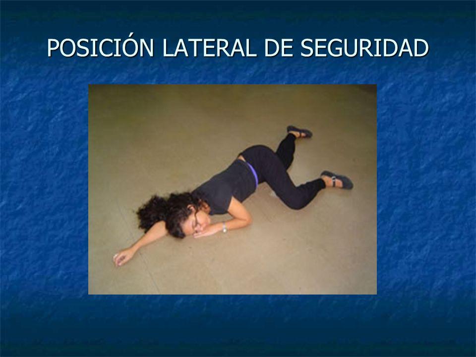 POSICIÓN LATERAL DE SEGURIDAD