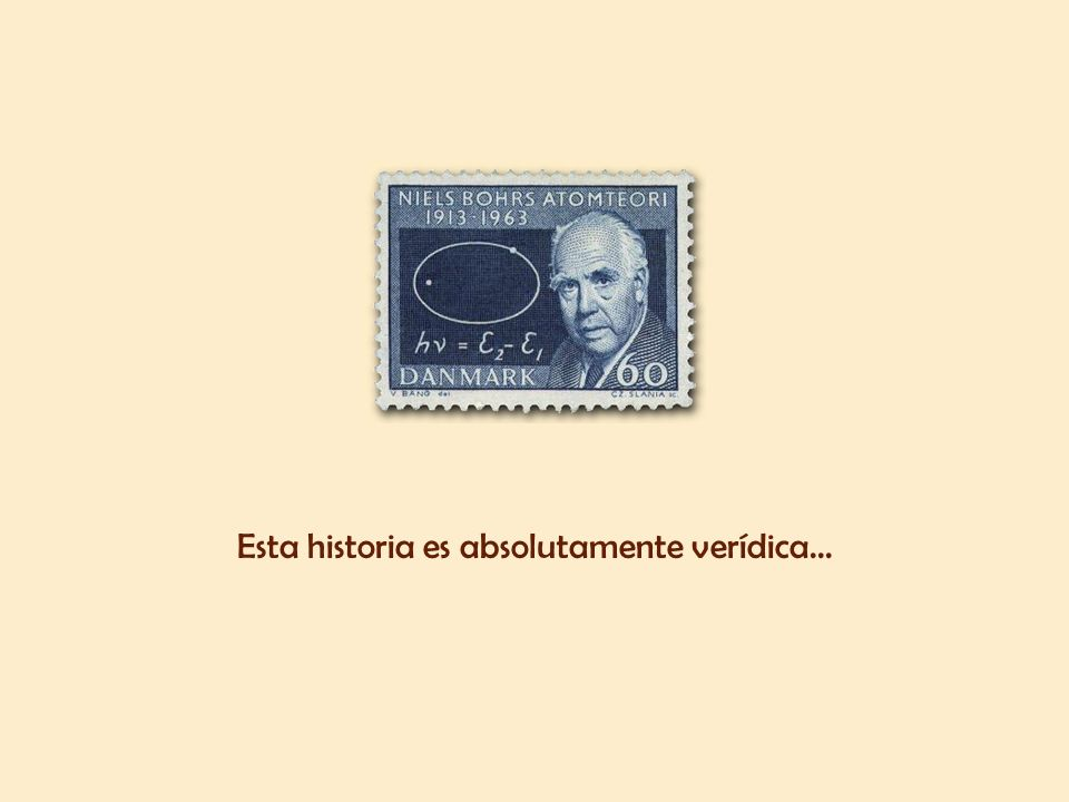 El estudiante se llamaba Niels Bohr, físico danés, premio Nobel de Física en 1922, más conocido por ser el primero en proponer el modelo de átomo con protones y neutrones y los electrones que lo rodeaban.