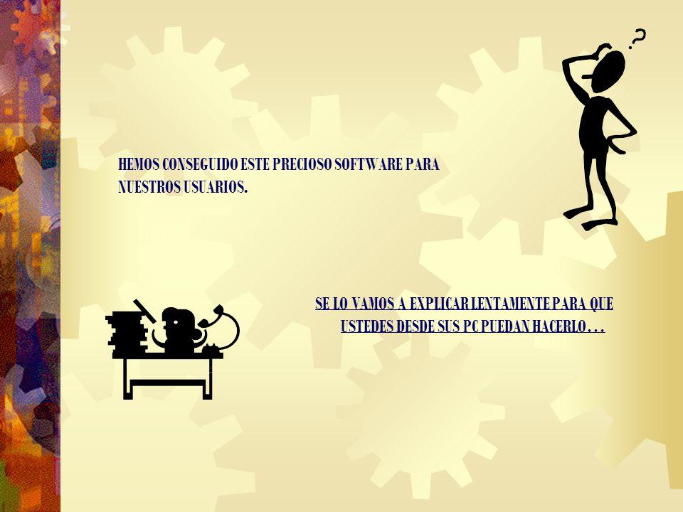 LO ÚLTIMO DE NUESTRA FACTORÍA: INSTALANDO AMOR.TXT