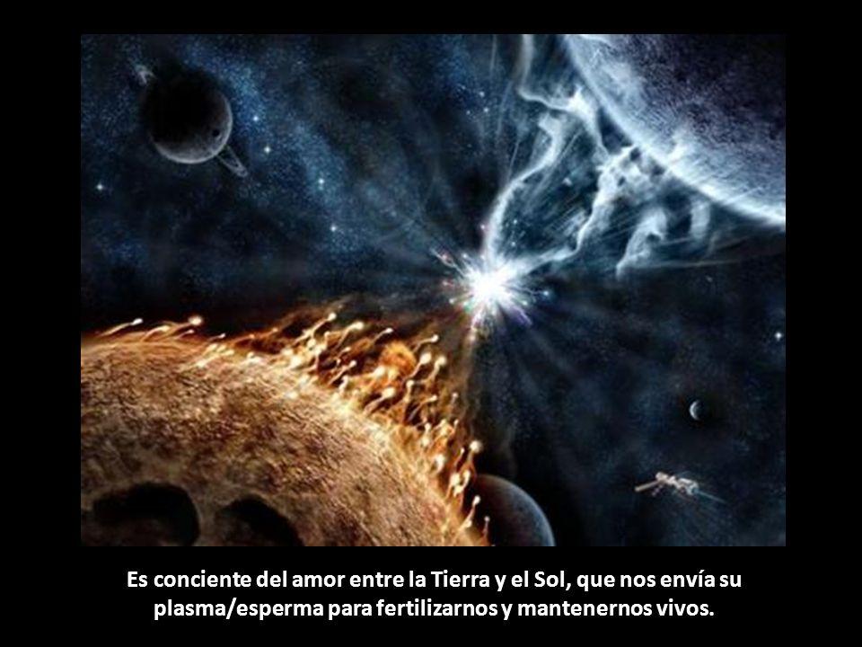 El que está despierto se siente uno con la Madre Tierra, porque sabe que vive en su cuerpo y que ella le protege de todos los peligros del espacio.
