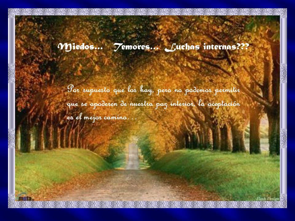 La vida tiene hermosos matices, los caminos de Dios son misteriosos, es toda una aventura descubrir sus misterios… crecemos en la corriente de la vida