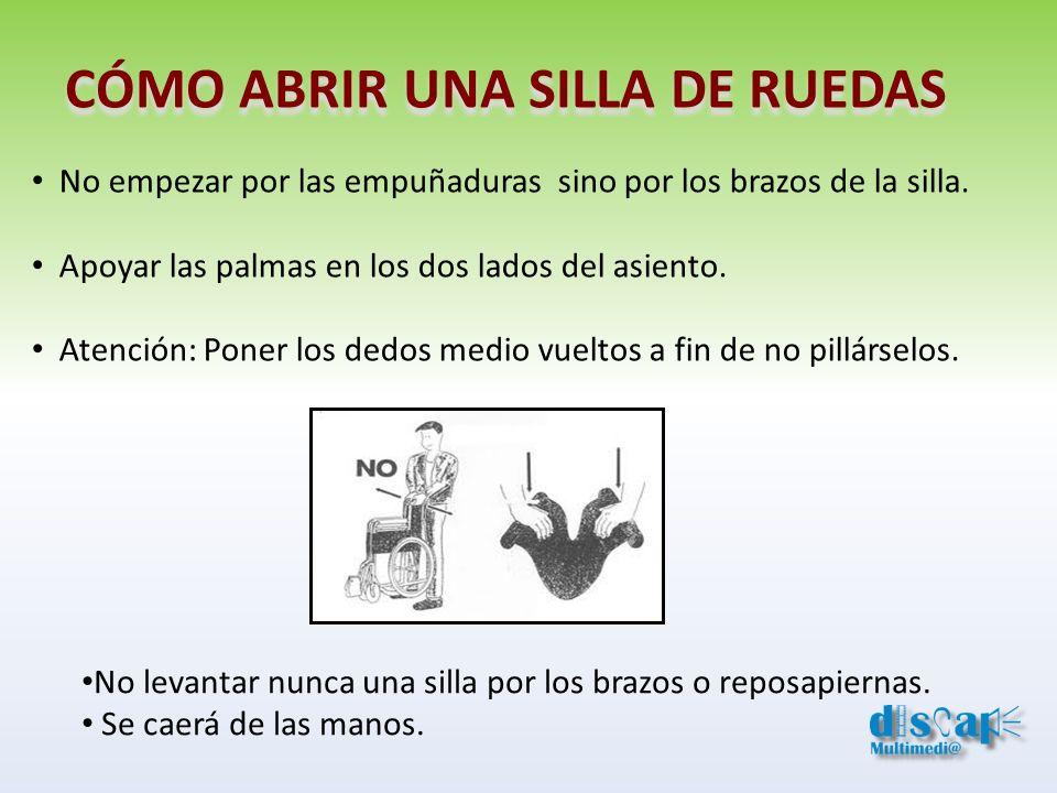 ANCLAJES Y UBICACIÓN DE LAS SILLAS DE RUEDAS
