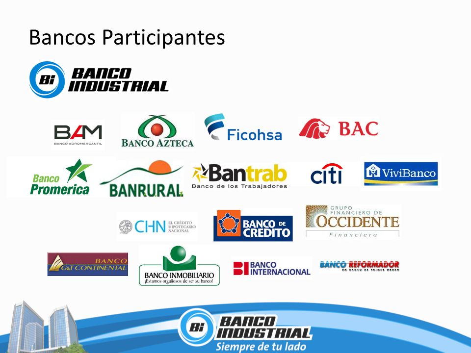 Bancos Participantes
