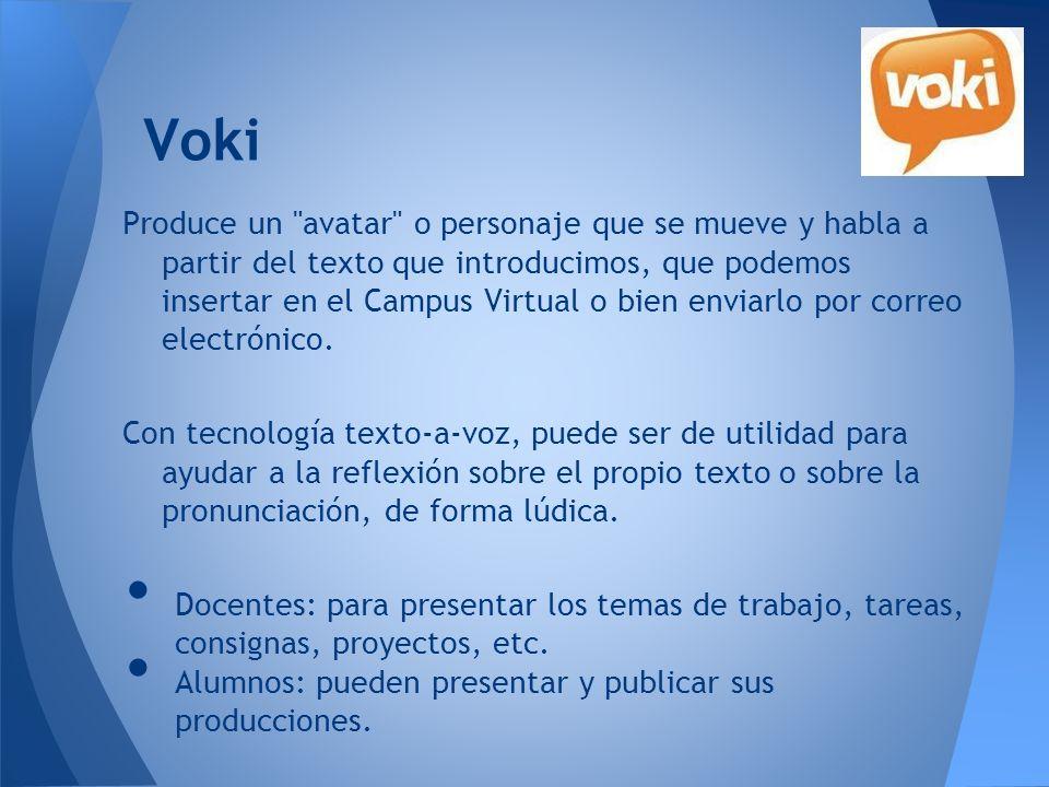 Voki - Ejemplos Narradores (Como consigna) Desafío iJET (Prod.