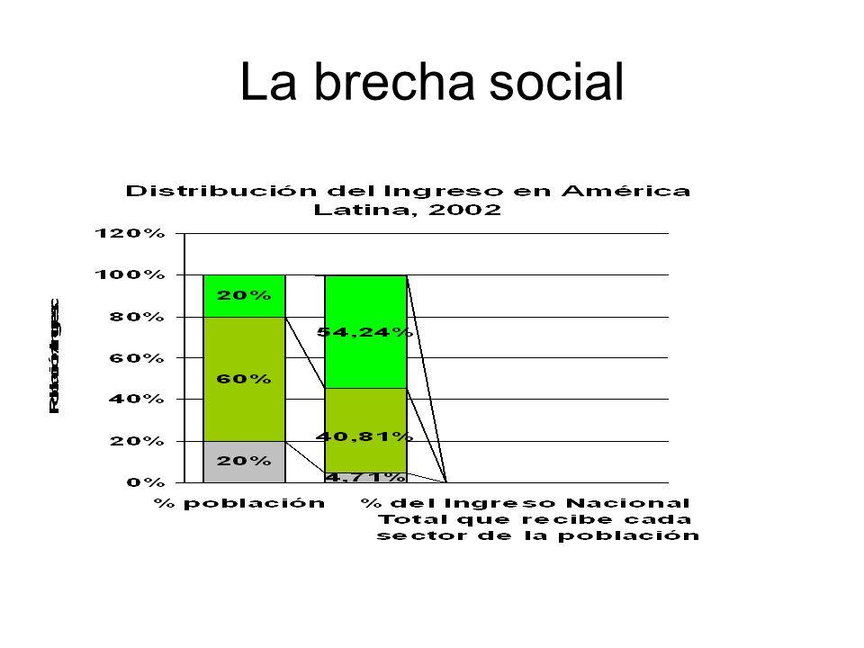 La brecha social
