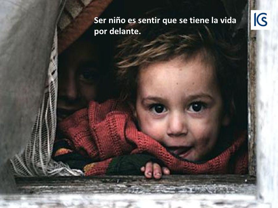 Si das algo como los niños, Lo harás de corazón.
