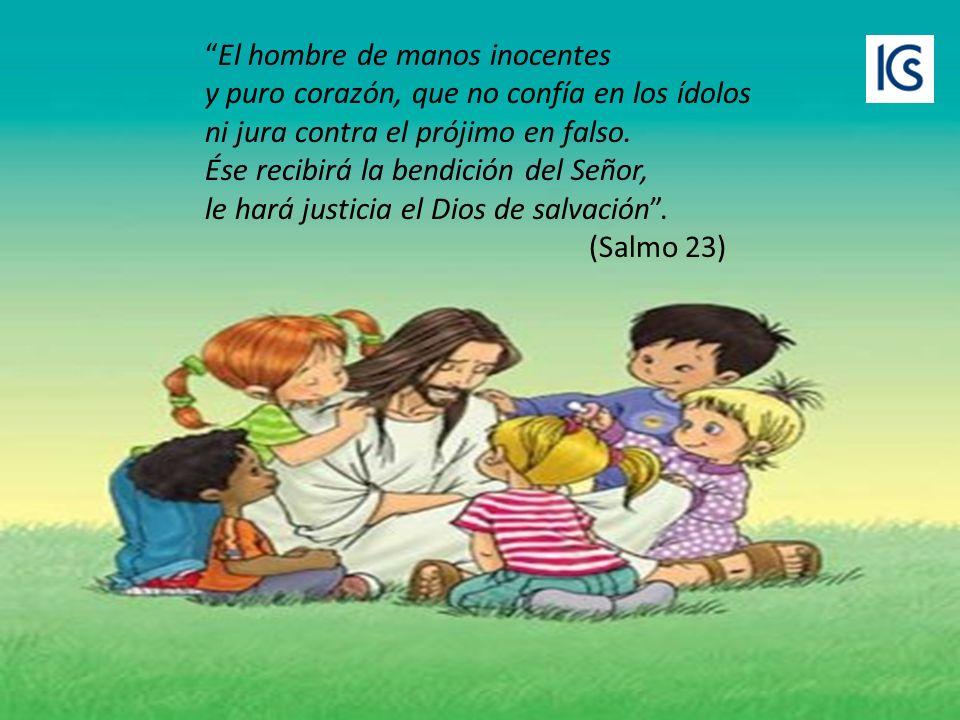 El niño no tiene envidia, ni vanagloria, ni ambición; y, sobre todo, es sencillo y humilde.