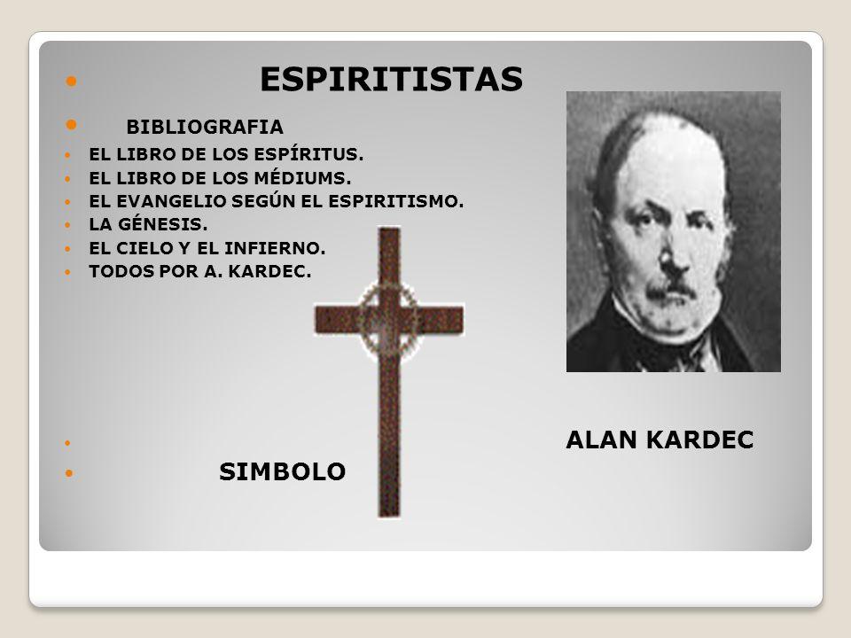 ESPIRITISTAS BIBLIOGRAFIA EL LIBRO DE LOS ESPÍRITUS.