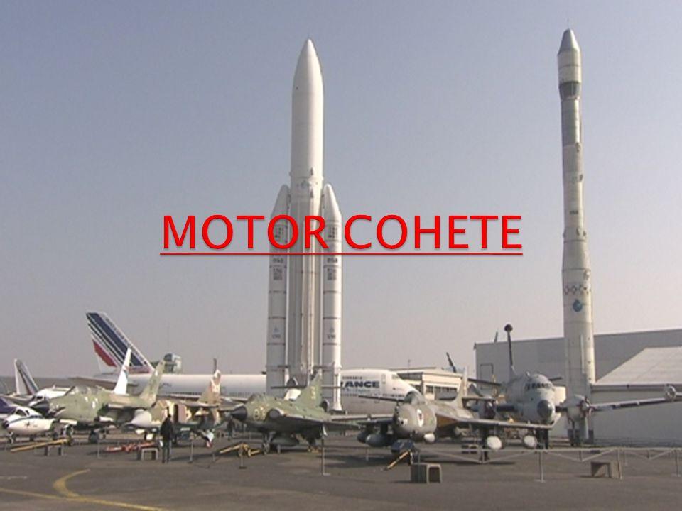 A TENER EN CUENTA: En la puesta en órbita de un satélite se utiliza un vehículo lanzador que es un motor cohete.