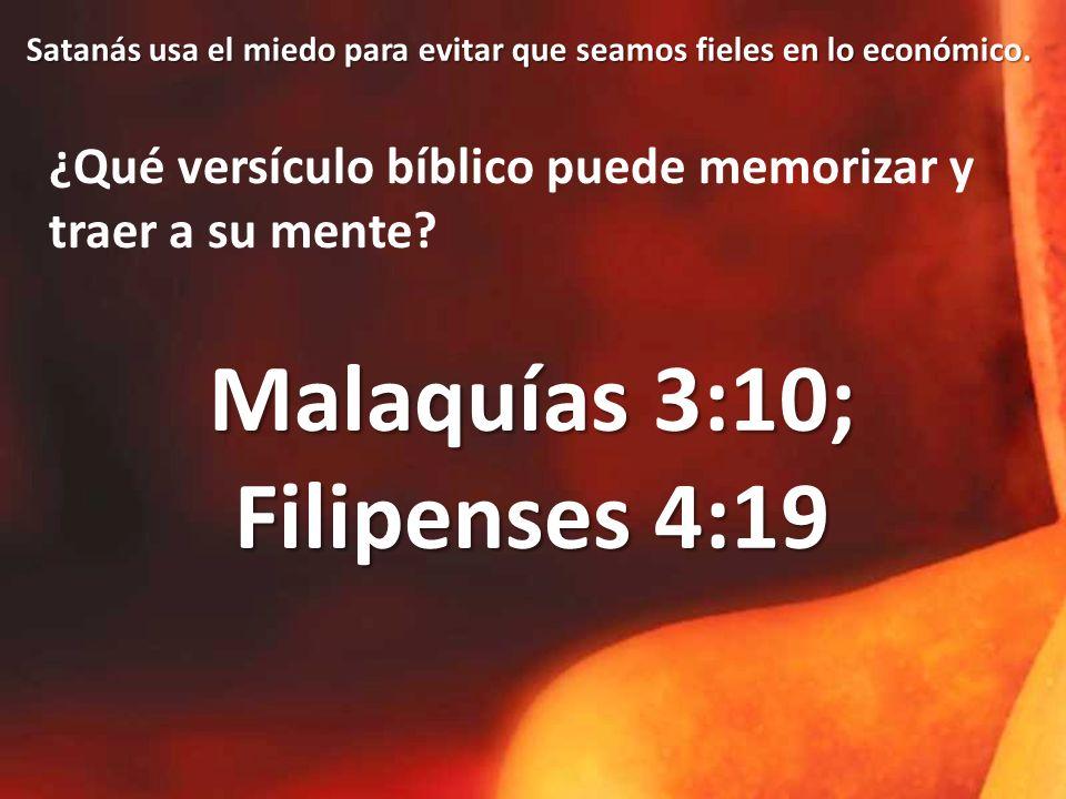 ¿Qué versículo bíblico puede memorizar y traer a su mente.