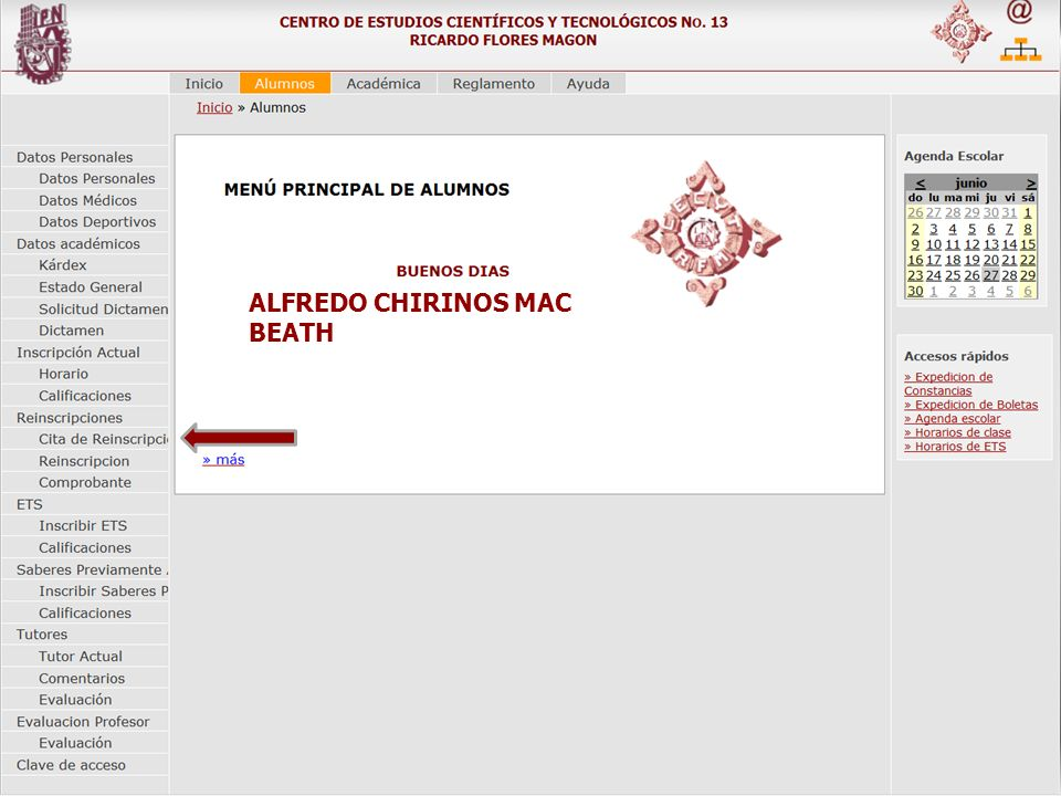 ALFREDO CHIRINOS MAC BEATH