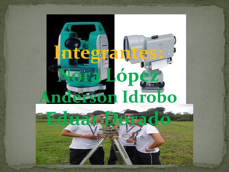 Integrantes: Nora López Anderson Idrobo Eduar Dorado