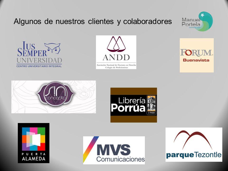 Algunos de nuestros clientes y colaboradores