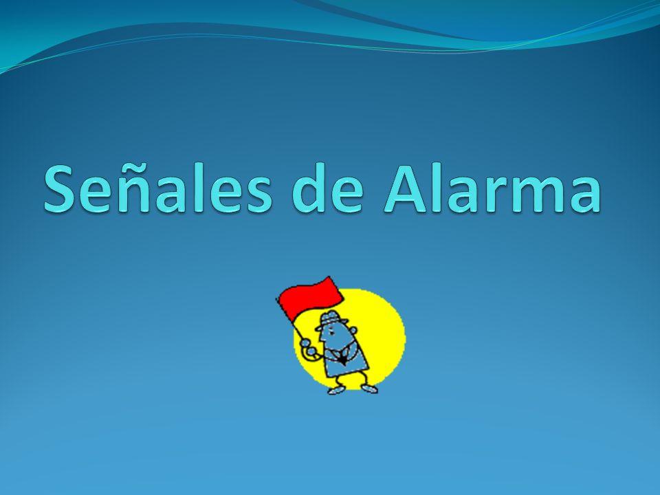 Señales de Alarma 1.Pérdida de memoria 2. Dificultad para desempeñar tareas habituales 3.