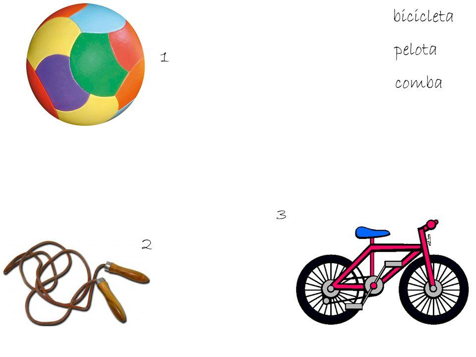 bicicleta pelota comba 1 2 3