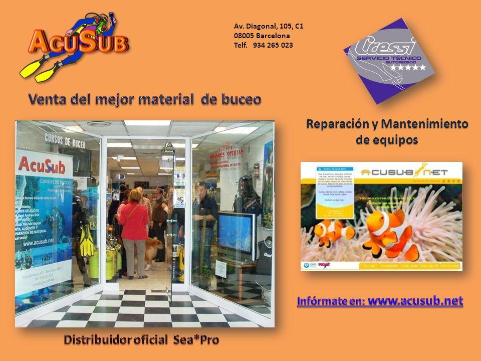 Reparación y Mantenimiento de equipos Av. Diagonal, 105, C1 08005 Barcelona Telf. 934 265 023