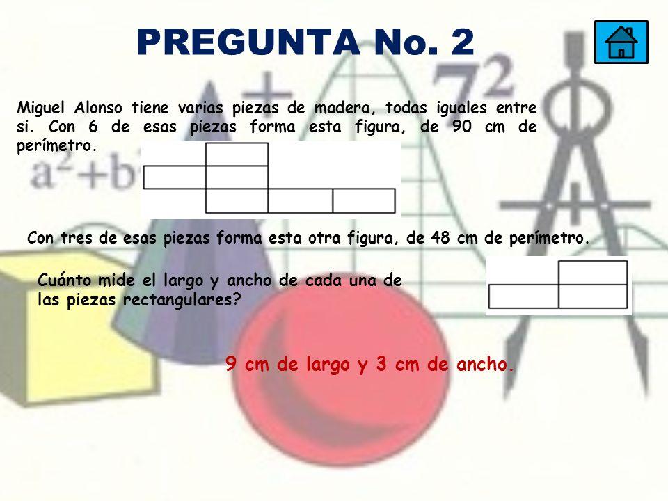 La figura A se obtiene al cortar en una de las esquinas de un cuadrado de 24cm de perímetro, un cuadradito de 8cm de perímetro.