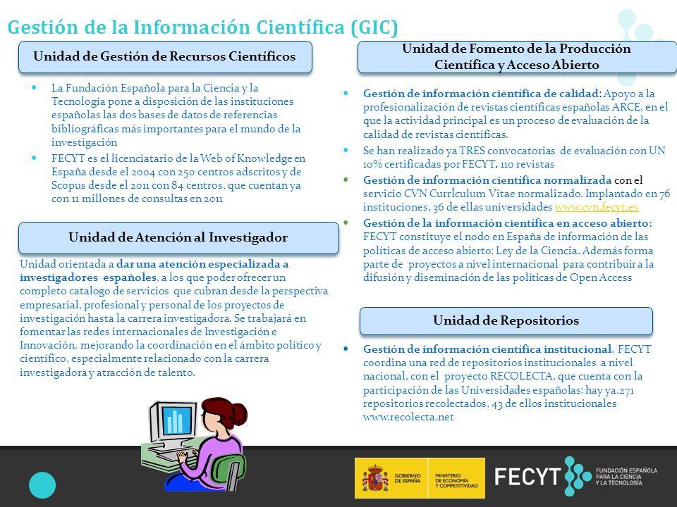 Una Gestión de la información científica conjunta: Recursos Electrónicos 7