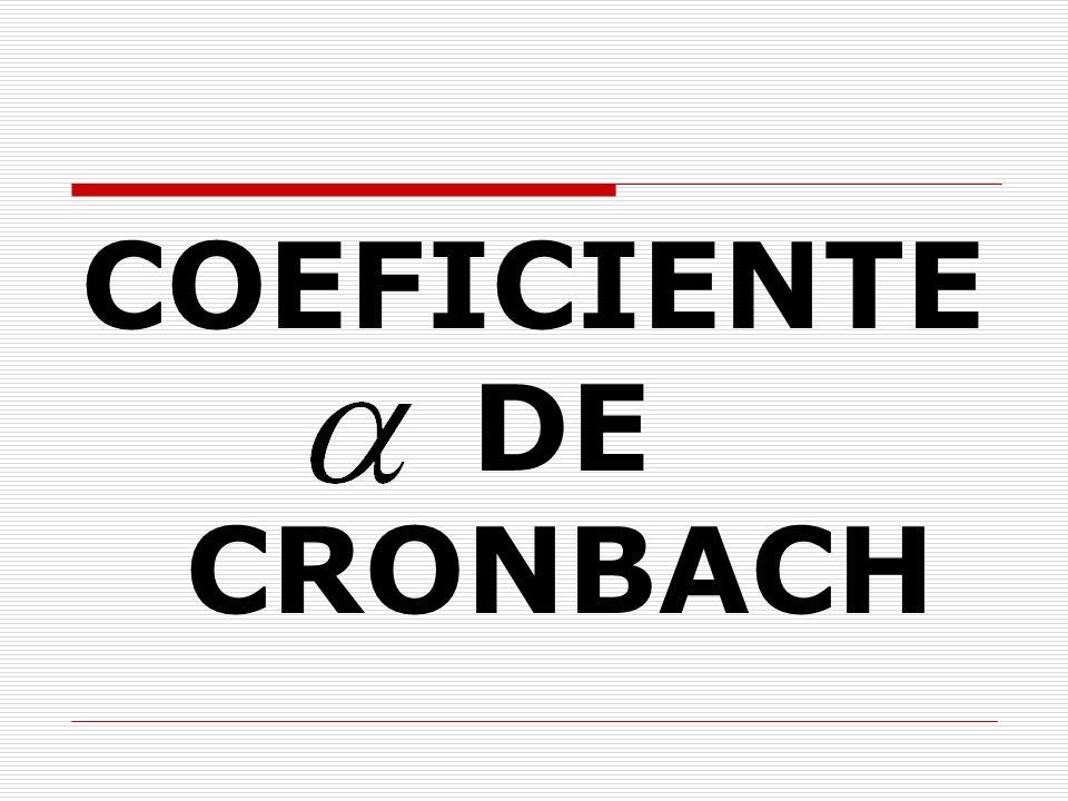 KR20 Se considera que el coeficiente de confiabilidad es bueno cuando se aproxima a 1.