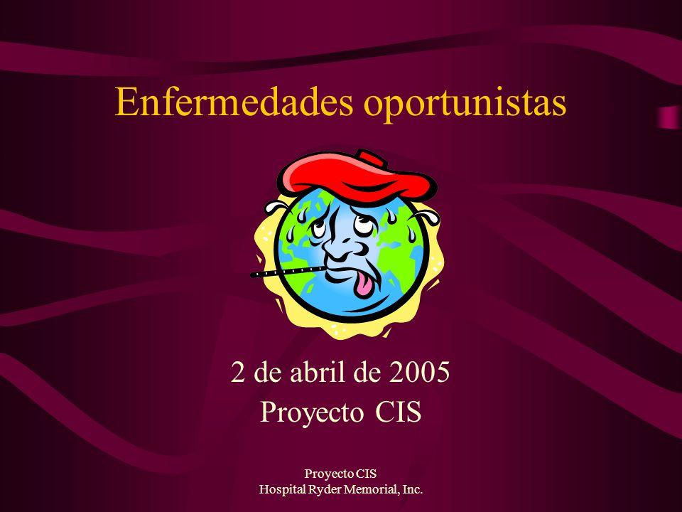 Proyecto CIS Hospital Ryder Memorial, Inc.Tratamiento, cont.
