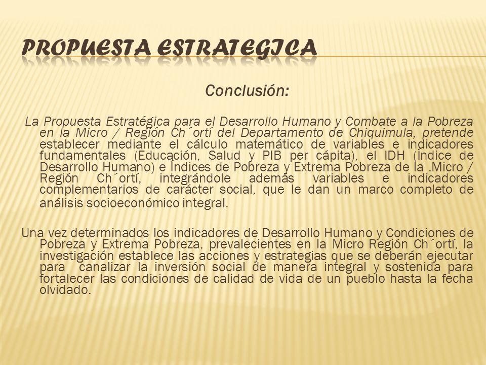 PROPUESTA ESTRATEGICA FLUJOGRAMA INSTITUCIONAL PARA EL DESARROLLO HUMANO Y COMBATE A LA POBREZA DE LA MICRO / REGION CH´ORTI, CHIQUIMULA: COCODE COMUD
