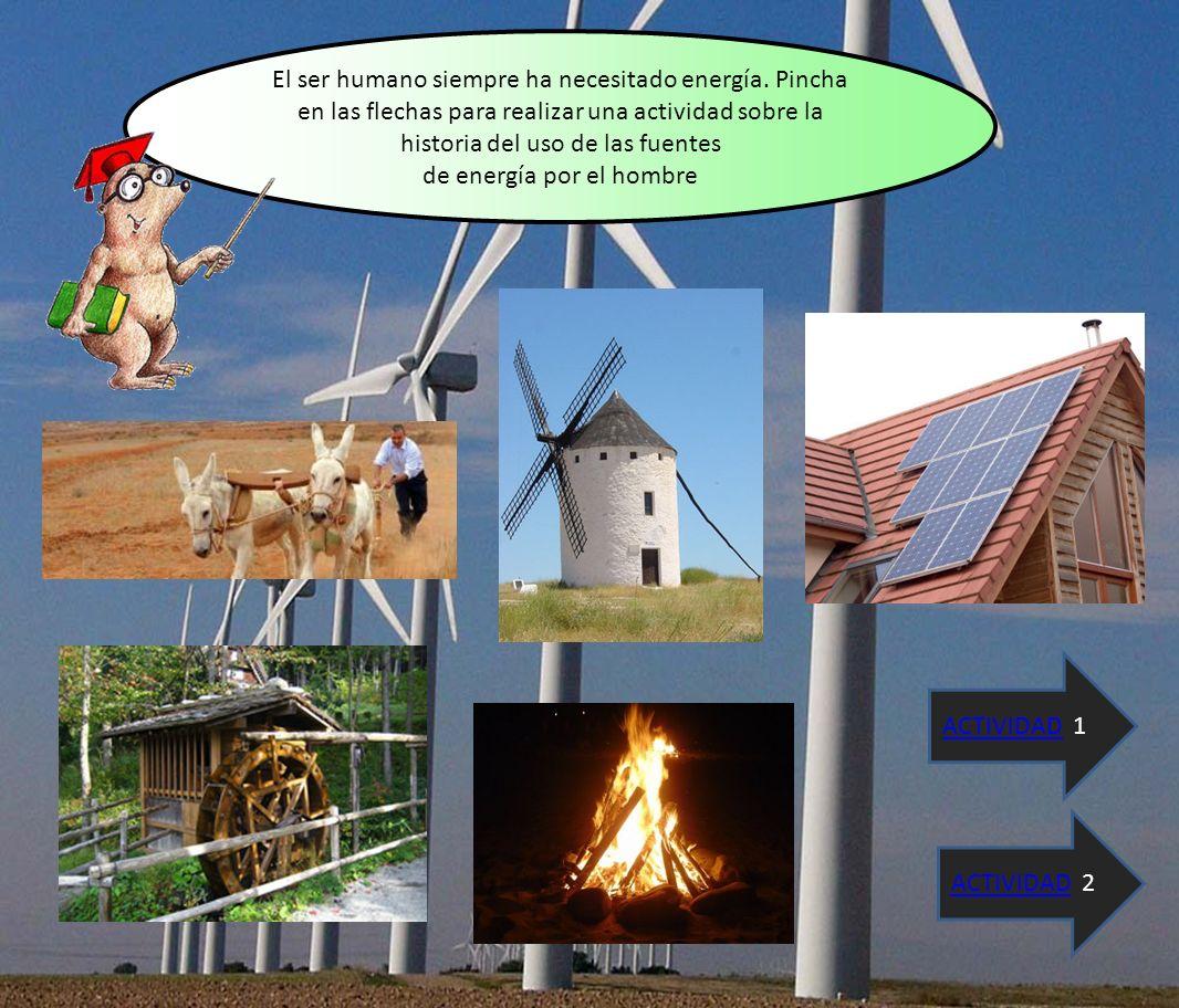 La energía puede ser renovable o no renovable.