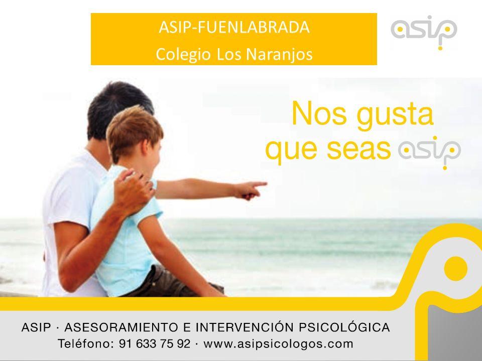 ASIP CENTRO ESCOLAR FAMILIA Asesoramiento e Intervención Psicológica