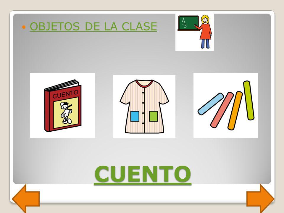 CUADERNO OBJETOS DE LA CLASE