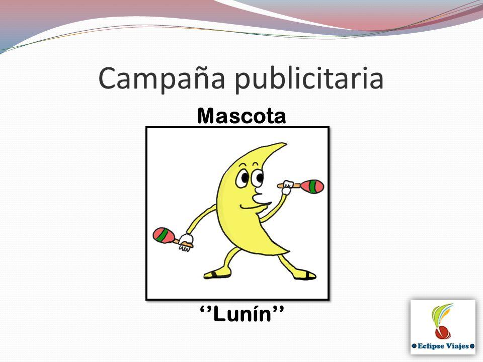 Campaña publicitaria Mascota Lunín