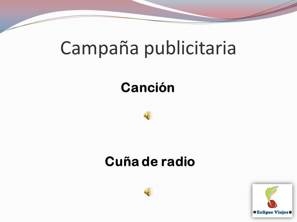 Campaña publicitaria Cuña de radio Canción