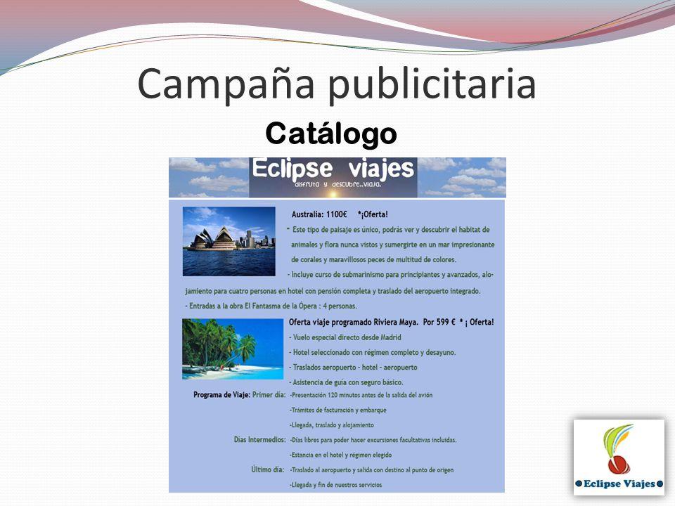 Campaña publicitaria Catálogo