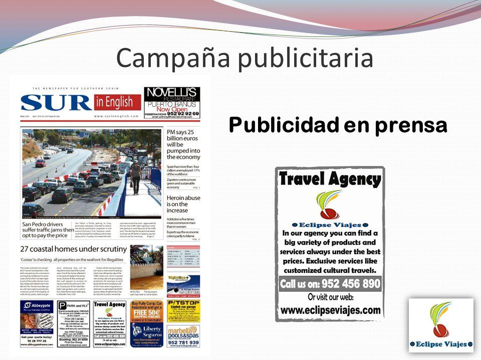 Publicidad en prensa Campaña publicitaria