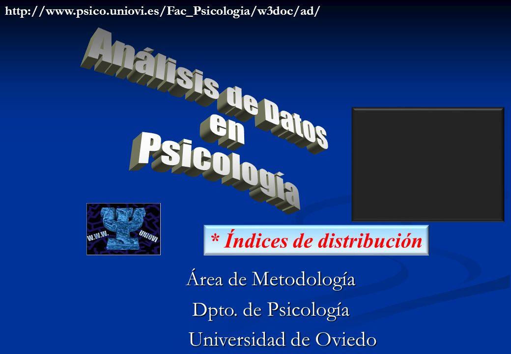 http://www.psico.uniovi.es/Fac_Psicologia/w3doc/ad/ * Índices de distribución Área de Metodología Dpto.