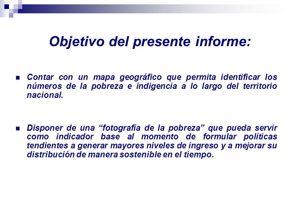 Fuentes de Información: En el presente trabajo se hace uso de dos grandes fuentes de información de carácter alternativo: Encuesta Permanente de Hogares.