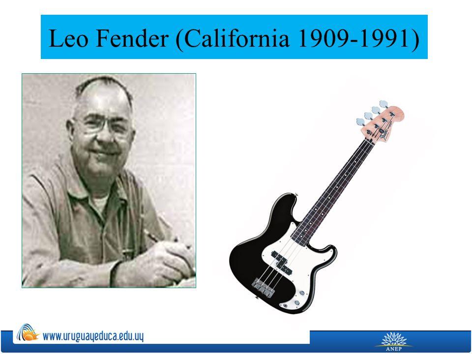 Leo Fender (California 1909-1991)