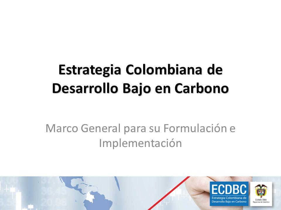 La estrategia soportará los objetivos de desarrollo nacional Crecimiento económico : – Apoyando a que nuestras empresas conquisten mercados internacionales con altas exigencias ambientales – Aprovechando de nuestro potencial minero-energético de forma ambientalmente responsable.