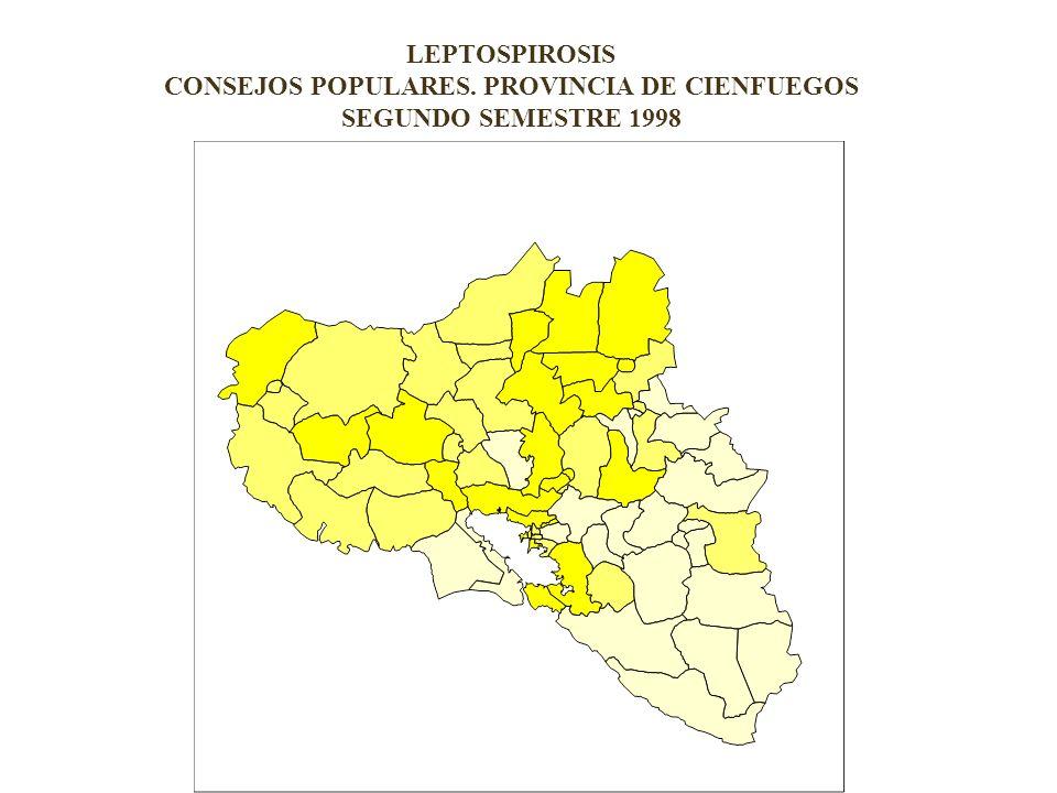 EVALUACION GENERAL DE RIESGOS. LEPTOSPIROSIS CONSEJOS POPULARES.