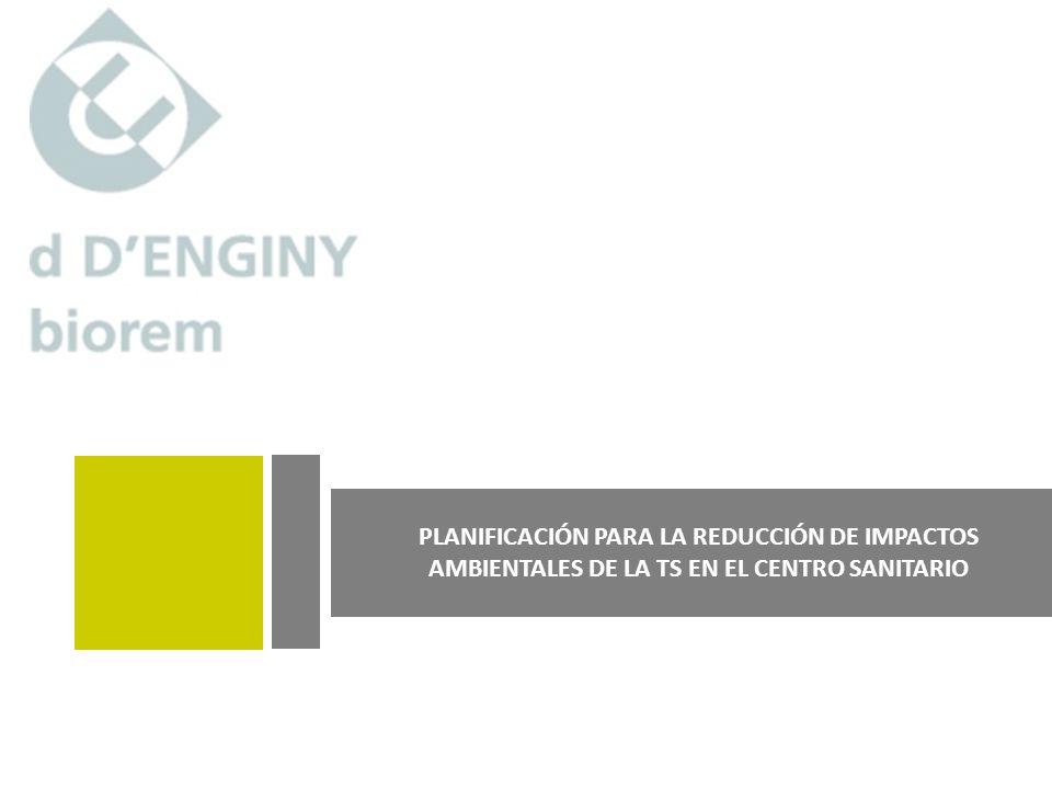 INSTRUMENTOS DE ANÁLISIS AMBIENTAL I JORNADAS MEDIO AMBIENTE Y TECNOLOGÍA SANITARIA Planes para la reducción del impacto ambiental Octubre 2009 pág.10 PLAN DE REDUCCIÓN DE IMPACTOS INVENTARIO (equipos, familias tecnológicas) EVALUACIÓN AMBIENTAL INICIAL DEFINICIÓN DE INDICADORES PLAN DE ACCIÓN EVALUACIÓN DE INDICADORES MEDIDA/ACCIÓN Buenas prácticas, Cambio equipo, Cambio usoreplanteo Detección de puntos débiles/puntos de interés COMPROMISO, POLÍTICA y FORMACIÓN EQUIPO