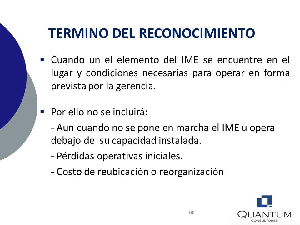 COSTOS POSTERIORES Mantenimiento Reemplazos de Componentes Reemplazos de Componentes Inspecciones Generales Inspecciones Generales Se activará si cump