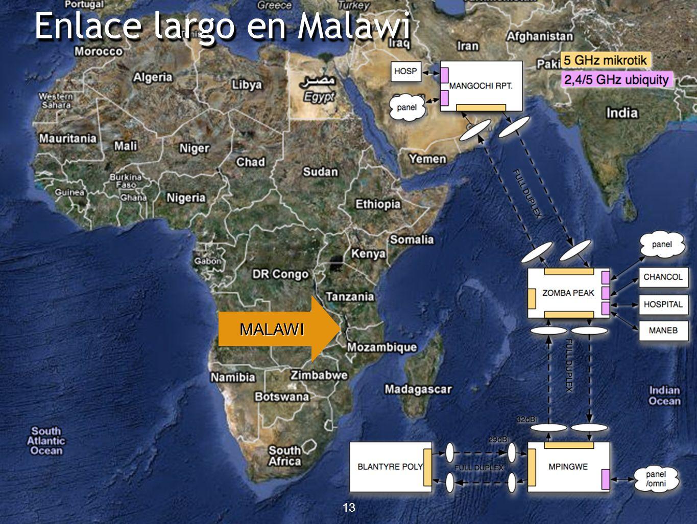 13 Enlace largo en Malawi 13 MALAWI