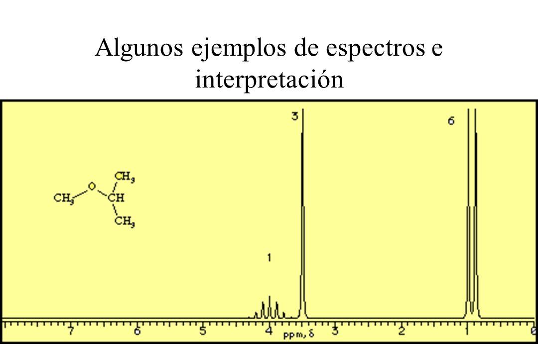 17 Algunos ejemplos de espectros e interpretación