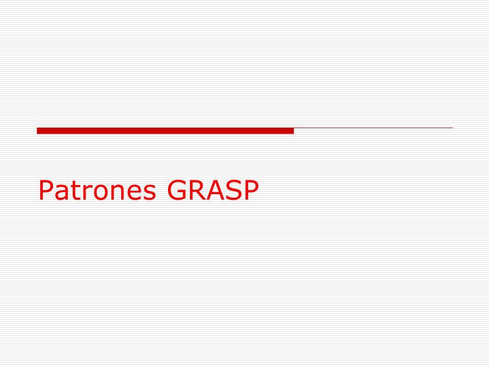 Patrones GRASP