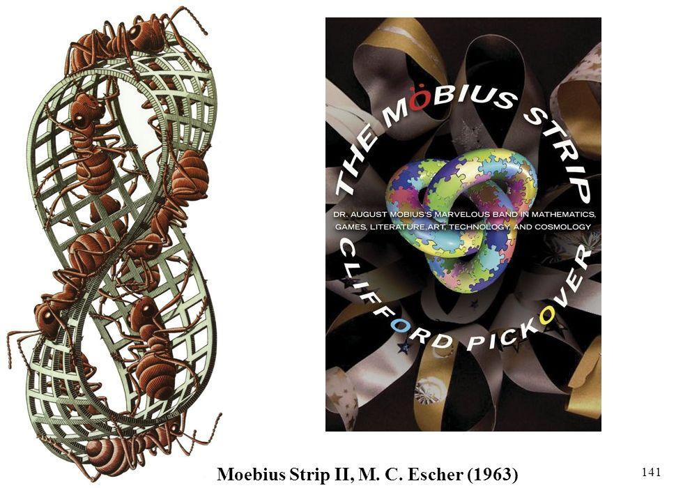 141 Moebius Strip II, M. C. Escher (1963)