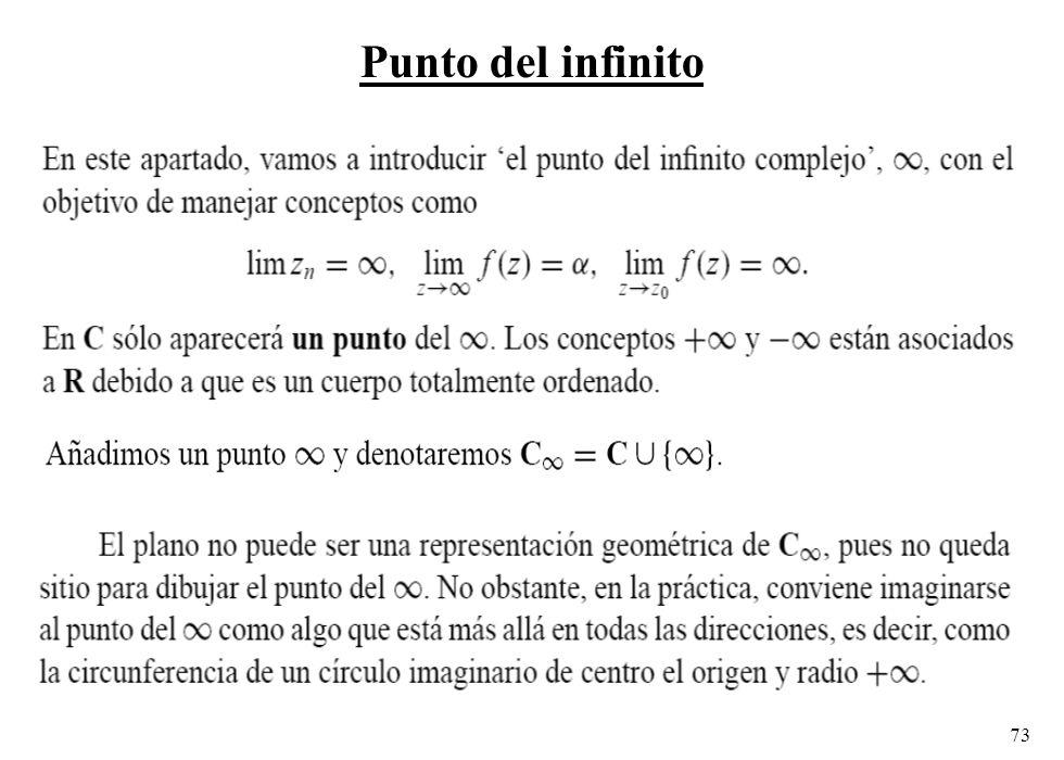 73 Punto del infinito