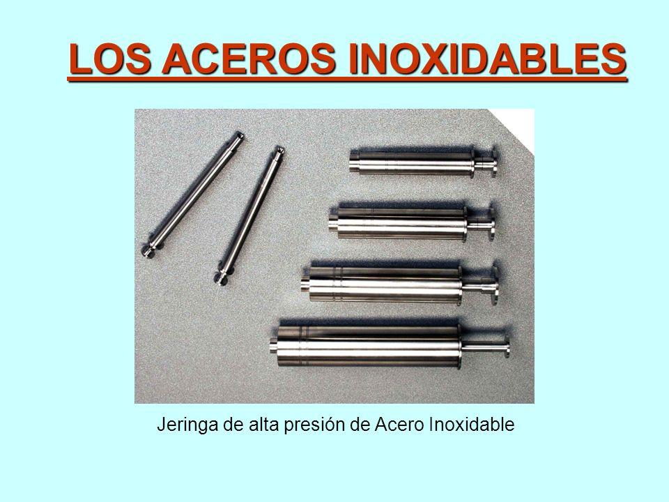 LOS ACEROS INOXIDABLES Jeringa de alta presión de Acero Inoxidable