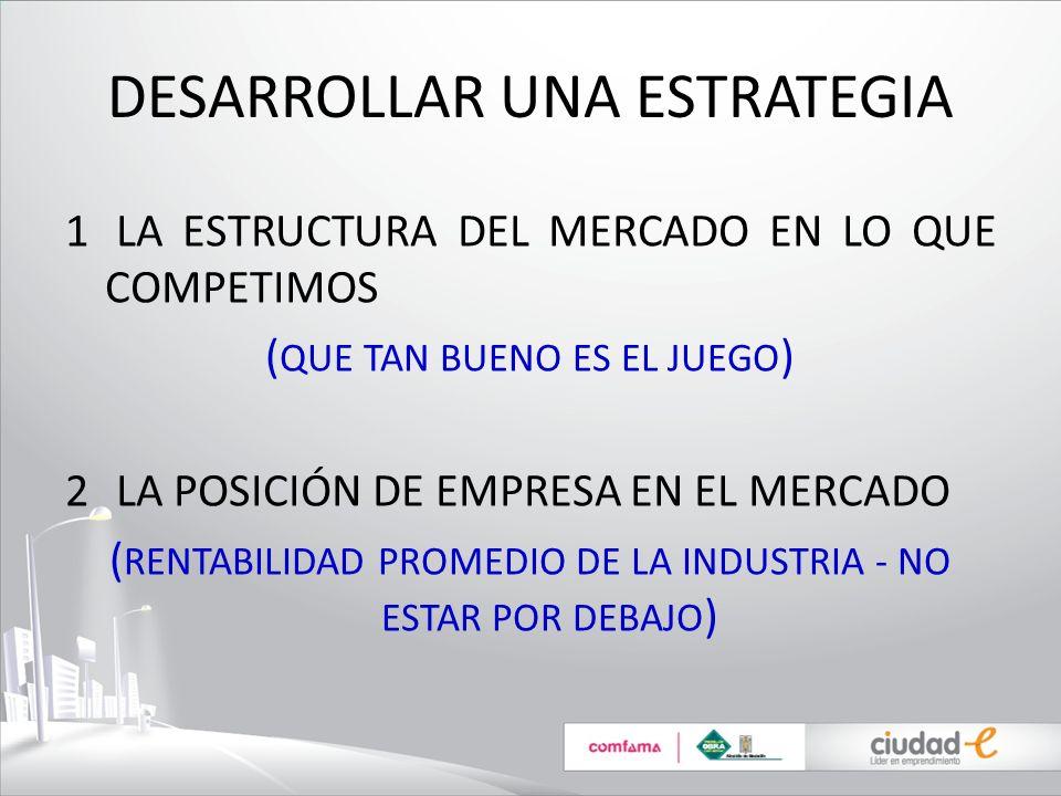 Gestión Estratégica: donde podemos crear una ventaja competitiva.