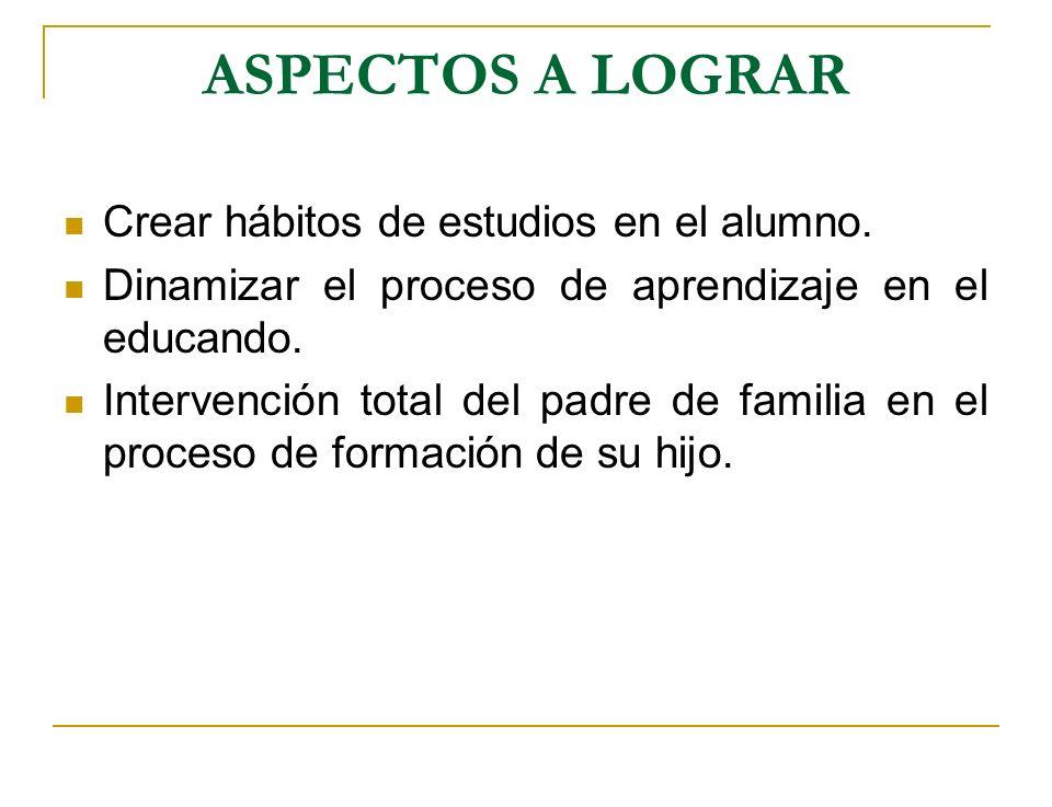 ESTRATEGIAS Formas de participación de los distintos integrantes de la comunidad.