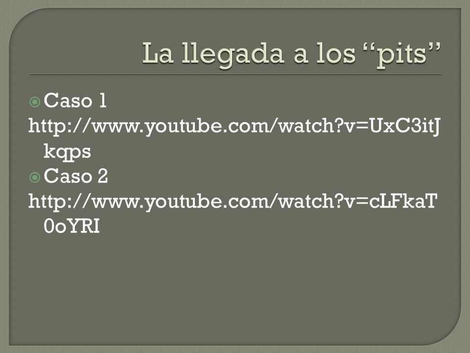 Caso 1 http://www.youtube.com/watch?v=UxC3itJ kqps Caso 2 http://www.youtube.com/watch?v=cLFkaT 0oYRI