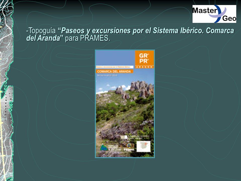 -Topoguía Paseos y excursiones por el Sistema Ibérico. Comarca del Aranda para PRAMES.