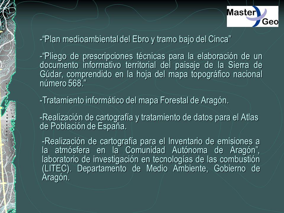-Plan medioambiental del Ebro y tramo bajo del Cinca -Pliego de prescripciones técnicas para la elaboración de un documento informativo territorial de